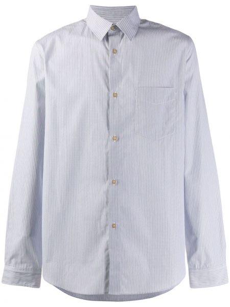 Koszula z długim rękawem klasyczna w paski A.p.c.