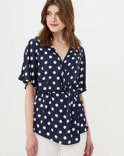 Блузка синяя весенний Sweewe