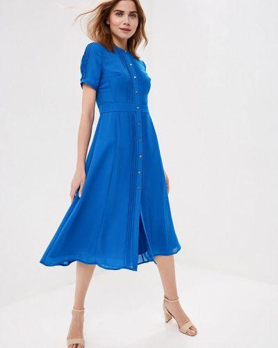 Платье - голубое Karen Millen