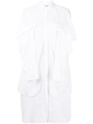 Sukienka mini bawełniana - biała Enfold