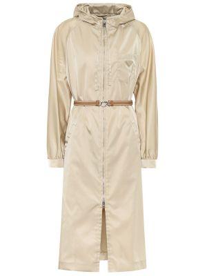 Нейлоновая куртка - бежевая Prada