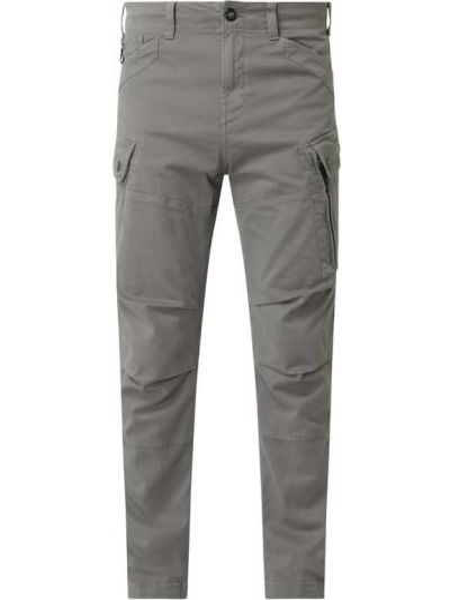 Bawełna spodni bojówki z kieszeniami z zamkiem błyskawicznym G-star Raw