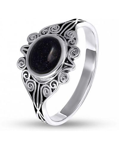 Кольцо с камнями - серебряное Bigsun