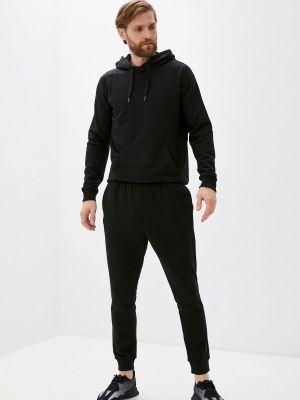 Черный спортивный спортивный костюм Bilcee