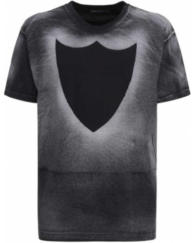 Czarny t-shirt bawełniany Htc Los Angeles