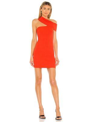 Pomarańczowa sukienka na imprezę Nbd