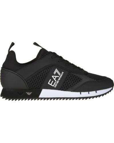 Черные кроссовки Ea7 Emporio Armani