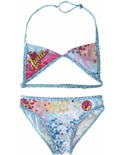 Bikini turkusowy materiałowy Soy Luna