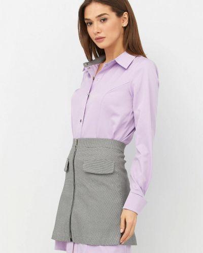 Юбочный костюм фиолетовый Ricamare