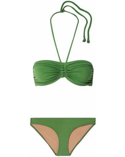 Zielony bikini Three Graces London