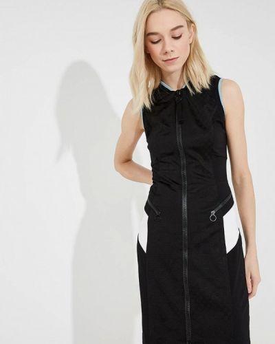 Черное платье Versace Jeans