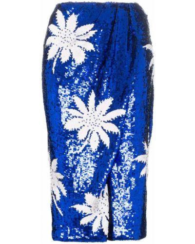 Синяя юбка с пайетками Filles A Papa