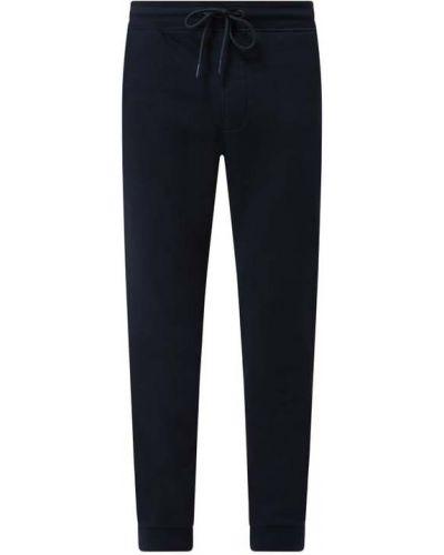 Niebieskie spodnie dresowe bawełniane Mcneal