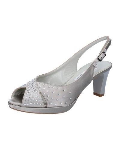 Sandały srebrne Musella