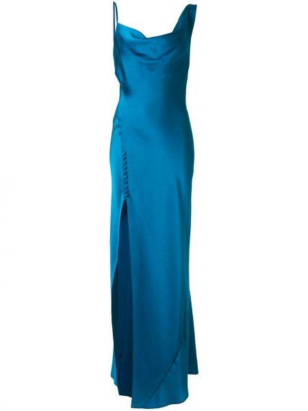 Приталенное платье с драпировкой без рукавов с вырезом Jay Godfrey