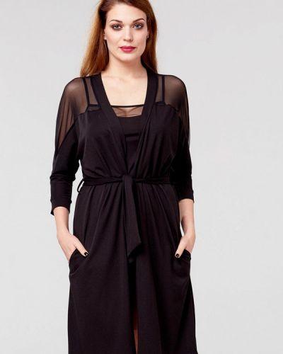Домашний халат - черный Ora