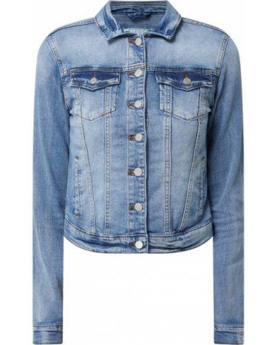 Niebieska kurtka jeansowa bawełniana Vila