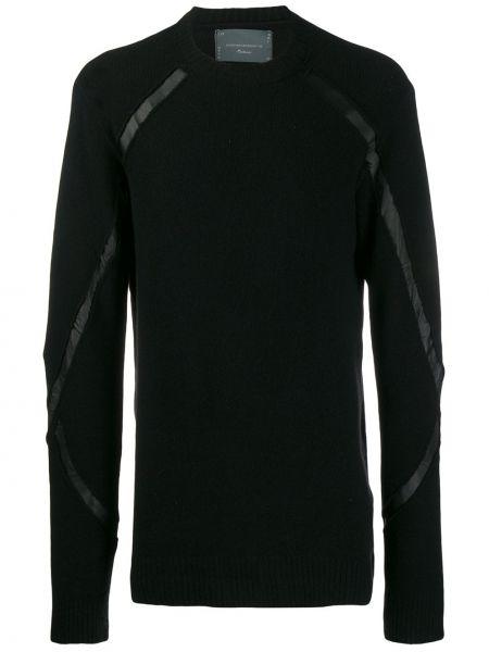 Черный свитер из мохера узкого кроя 10sei0otto