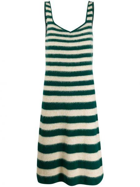 Платье миди с открытой спиной макси Marni