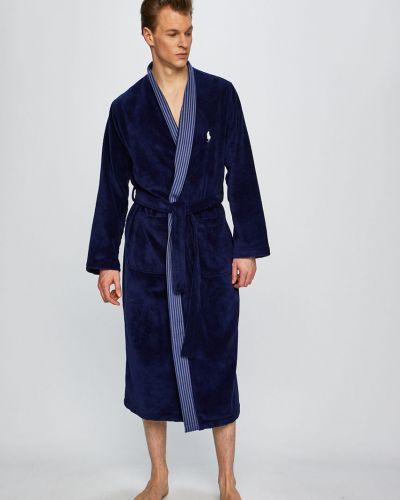 Халат темно-синий синий Polo Ralph Lauren
