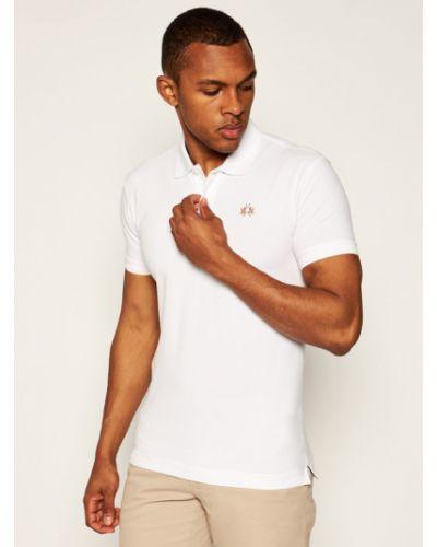 Biała koszulka La Martina