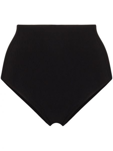 Черный классический купальник с вырезом с высокой посадкой Araks