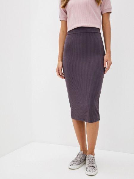 Облегающее платье фиолетовый весеннее Trendyangel