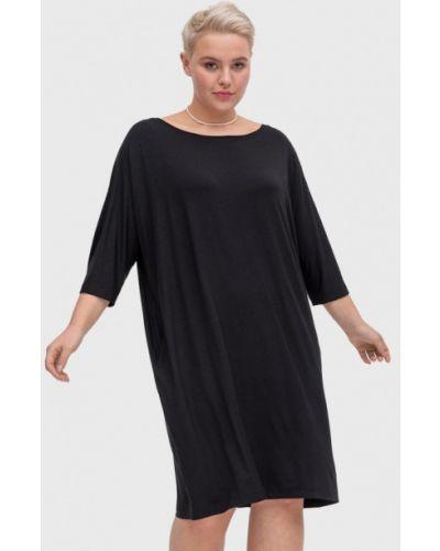 Домашнее черное платье Lessismore