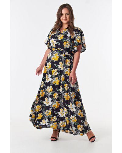 Летнее платье макси с цветочным принтом Victoria Filippova
