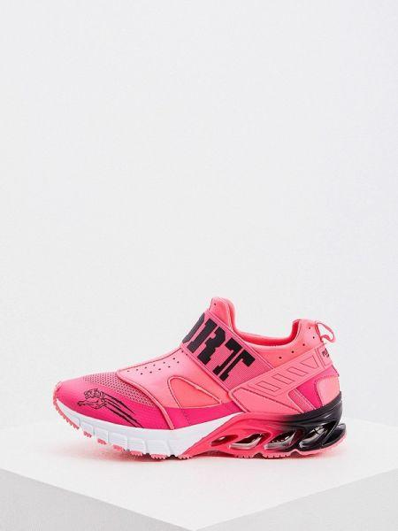 Кроссовки розовый низкие Plein Sport