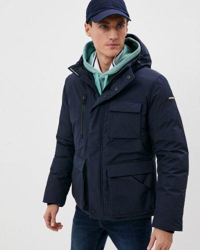 Длинная куртка - синий Freedomday
