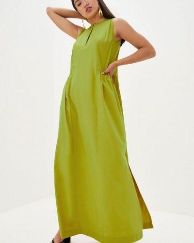 Повседневное зеленое платье Magnet