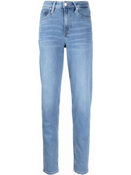 Хлопковые синие джинсы классические с карманами Tommy Hilfiger