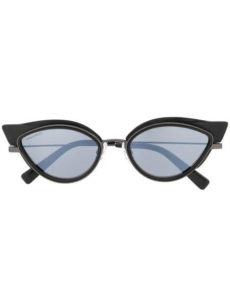 Муслиновые черные солнцезащитные очки квадратные Dsquared2 Eyewear