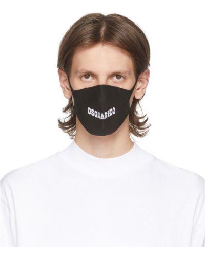 Biały maska do twarzy rozciągać za pełne Dsquared2