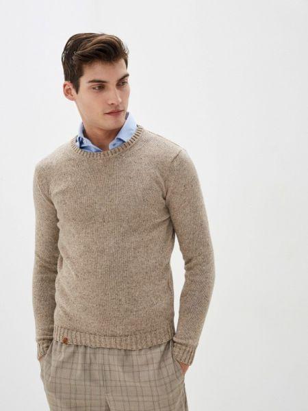 Бежевый свитер Knitman