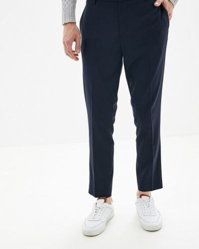Зауженные брюки синий Burton Menswear London