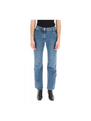 Niebieskie spodnie Off-white
