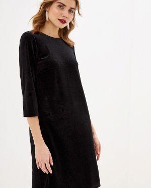 Черное вечернее платье Sela