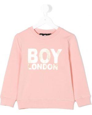 Розовый топ Boy London Kids
