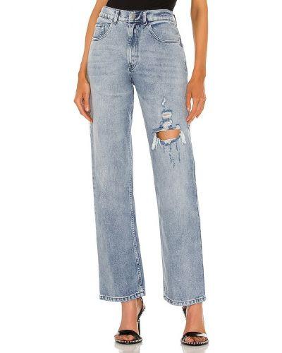 Niebieskie jeansy vintage Danielle Guizio
