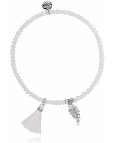 Серебряный браслет с подвесками серебряный By Dziubeka