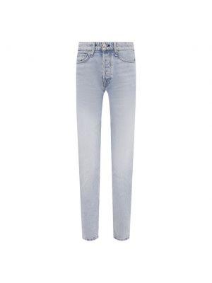 Хлопковые джинсы - голубые Rag&bone