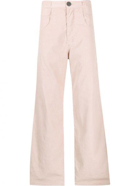 Расклешенные свободные брюки с поясом Telfar