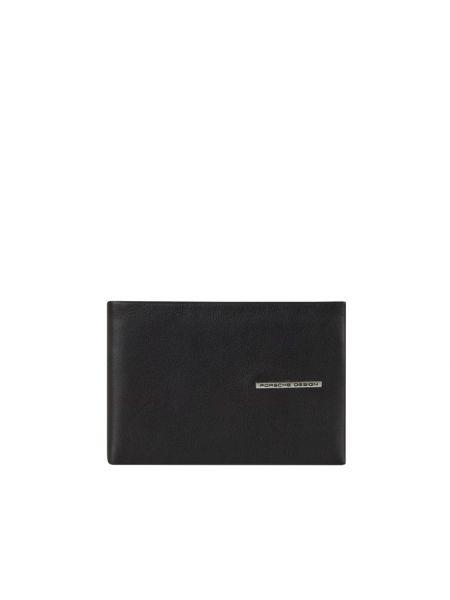 Czarny portfel skórzany Porsche Design