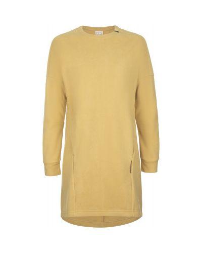 Прямое желтое спортивное платье Merrell