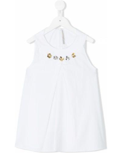 Платье белое Loredana