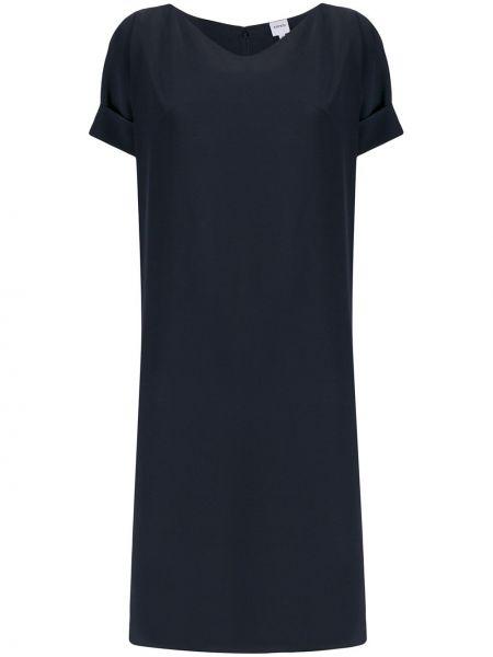 Платье с V-образным вырезом шелковое Aspesi