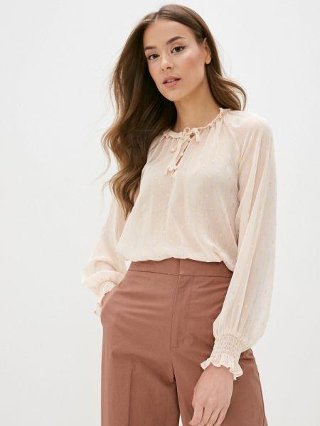 Блузка с длинным рукавом розовая весенний Ovs