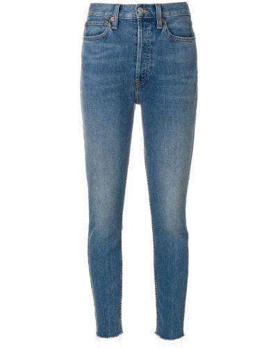 джинсы скинни с завышенной талией Re/done